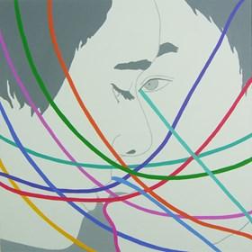 Obraz do salonu artysty Viola Tycz pod tytułem Połączeni