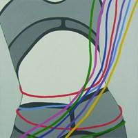 Obraz do salonu artysty Viola Tycz pod tytułem Rozcięta 1 2 2