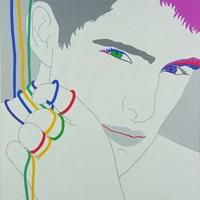 Obraz do salonu artysty Viola Tycz pod tytułem Rozłączony