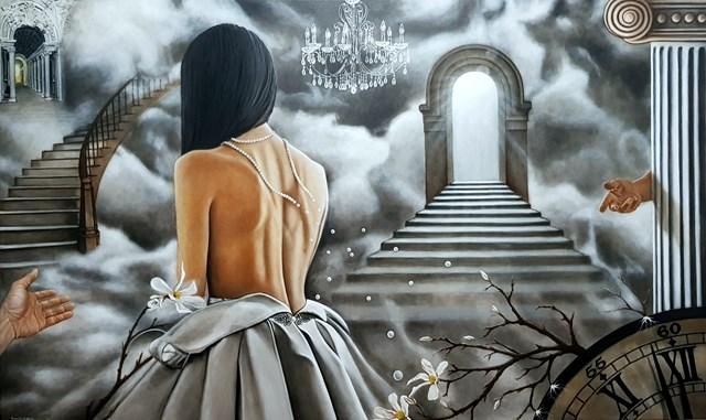 Obraz do salonu artysty Monika Krzymińska-Śluborska pod tytułem Wybór