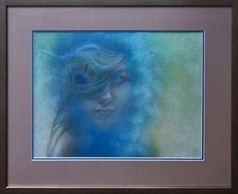 Obraz do salonu artysty Katarzyna Kania pod tytułem Portret
