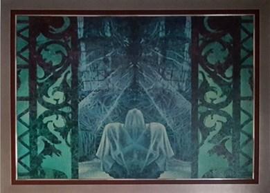 Obraz do salonu artysty Katarzyna Kania pod tytułem Teatr Nieśmiertelności Akt IV
