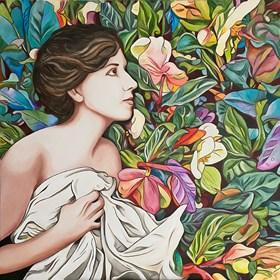 Obraz do salonu artysty Joanna Szumska pod tytułem Łagodność