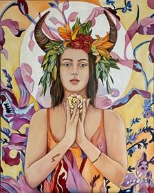 Obraz do salonu artysty Joanna Szumska pod tytułem Gaja