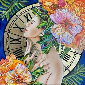 Obraz do salonu artysty Joanna Szumska pod tytułem Majowa sukienka