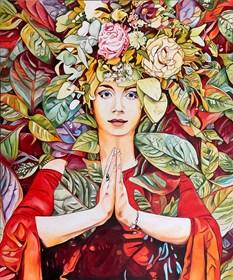 Obraz do salonu artysty Joanna Szumska pod tytułem Urodzaj