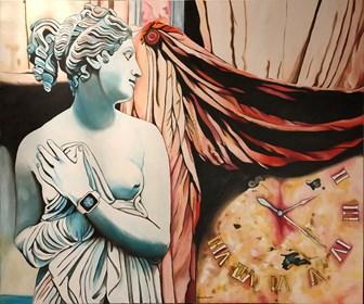 Obraz do salonu artysty Joanna Szumska pod tytułem Znaki czasu