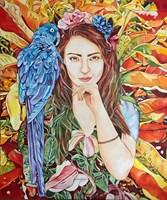 Obraz do salonu artysty Joanna Szumska pod tytułem W zgodzie z naturą