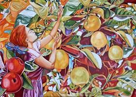 Obraz do salonu artysty Joanna Szumska pod tytułem Gdy zamykam oczy
