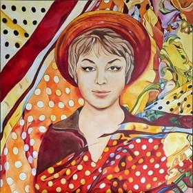 Obraz do salonu artysty Joanna Szumska pod tytułem Mój pierwszy bal