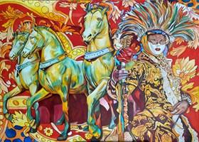 Obraz do salonu artysty Joanna Szumska pod tytułem Tajemnice wenecji