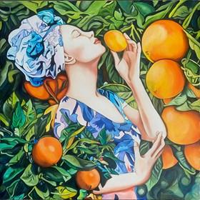 Obraz do salonu artysty Joanna Szumska pod tytułem Zapach neroli