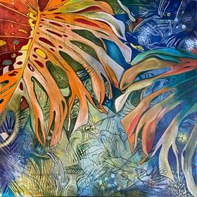 Obraz do salonu artysty Joanna Szumska pod tytułem Tropikalna impresja