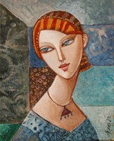 Obraz do salonu artysty Agnieszka Korczak-Ostrowska pod tytułem Portret