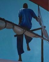 Obraz do salonu artysty Jolanta Kitowska pod tytułem Wypatrywacz delfinów