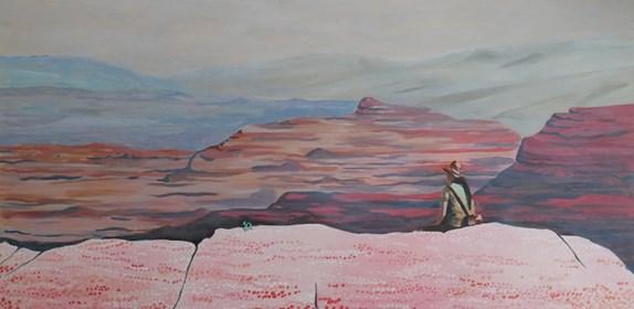 Obraz do salonu artysty Jolanta Kitowska pod tytułem On the top