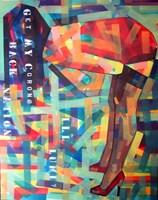 Obraz do salonu artysty Piotr Kachny pod tytułem CHINESSEnce DREAM