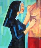 Obraz do salonu artysty Piotr Kachny pod tytułem El_Rection