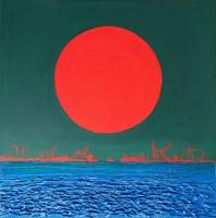 Obraz do salonu artysty Michał Mroczka pod tytułem Port bengalski