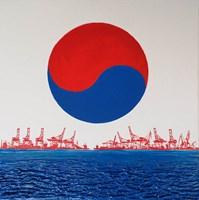 Obraz do salonu artysty Michał Mroczka pod tytułem Port koreański