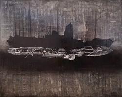 Obraz do salonu artysty Michał Mroczka pod tytułem Transportowiec Goya