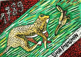 Obraz do salonu artysty Mirosław Śledź pod tytułem Bez tytułu 1