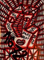 Obraz do salonu artysty Mirosław Śledź pod tytułem Untiled 023