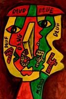 Obraz do salonu artysty Mirosław Śledź pod tytułem Untiled 024