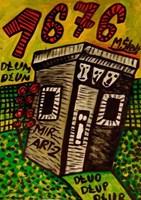 Obraz do salonu artysty Mirosław Śledź pod tytułem Untiled 025