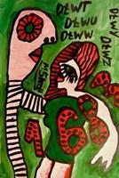 Obraz do salonu artysty Mirosław Śledź pod tytułem Untiled 027