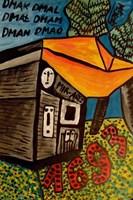 Obraz do salonu artysty Mirosław Śledź pod tytułem Untiled 029