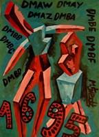 Obraz do salonu artysty Mirosław Śledź pod tytułem Untiled 031