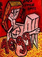 Obraz do salonu artysty Mirosław Śledź pod tytułem Untiled 033