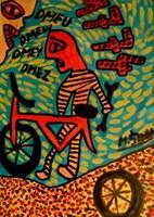 Obraz do salonu artysty Mirosław Śledź pod tytułem Untiled 037