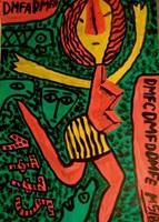 Obraz do salonu artysty Mirosław Śledź pod tytułem Untiled 038