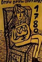 Obraz do salonu artysty Mirosław Śledź pod tytułem Untiled 040