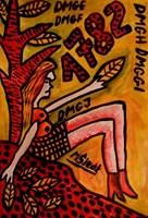 Obraz do salonu artysty Mirosław Śledź pod tytułem Untiled 041