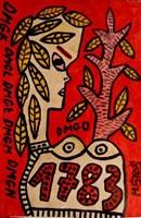 Obraz do salonu artysty Mirosław Śledź pod tytułem Untiled 042
