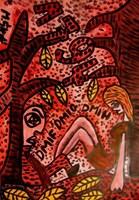 Obraz do salonu artysty Mirosław Śledź pod tytułem Untiled 048