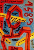 Obraz do salonu artysty Mirosław Śledź pod tytułem Untiled 0012