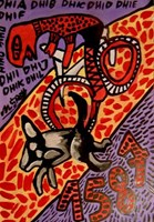 Obraz do salonu artysty Mirosław Śledź pod tytułem Untiled 0014