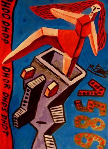 Obraz do salonu artysty Mirosław Śledź pod tytułem Untiled 0015