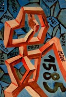 Obraz do salonu artysty Mirosław Śledź pod tytułem Untiled 0016