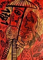 Obraz do salonu artysty Mirosław Śledź pod tytułem Untiled 0021