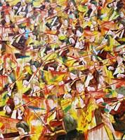 Obraz do salonu artysty Cyprian Nocoń pod tytułem Nowa fala