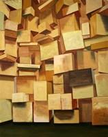 Obraz do salonu artysty Cyprian Nocoń pod tytułem Wymagania