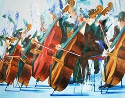 Obraz do salonu artysty Cyprian Nocoń pod tytułem Op. 7