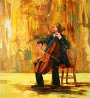 Obraz do salonu artysty Cyprian Nocoń pod tytułem Solista