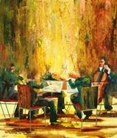 Obraz do salonu artysty Cyprian Nocoń pod tytułem Kwintet