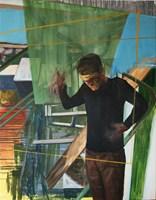 Obraz do salonu artysty Cyprian Nocoń pod tytułem Scenariusz
